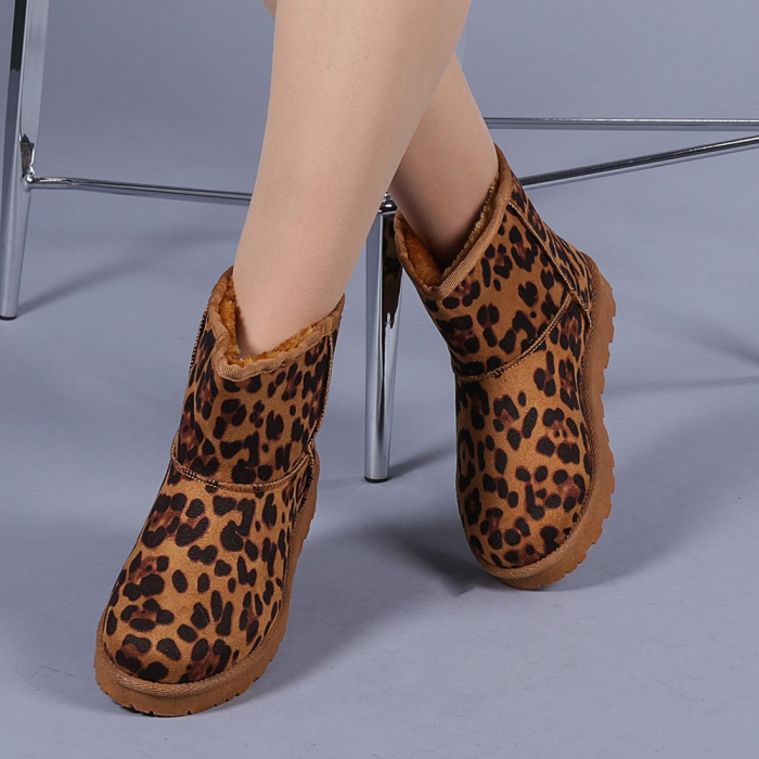 Cizme dama Trusha leopard 0