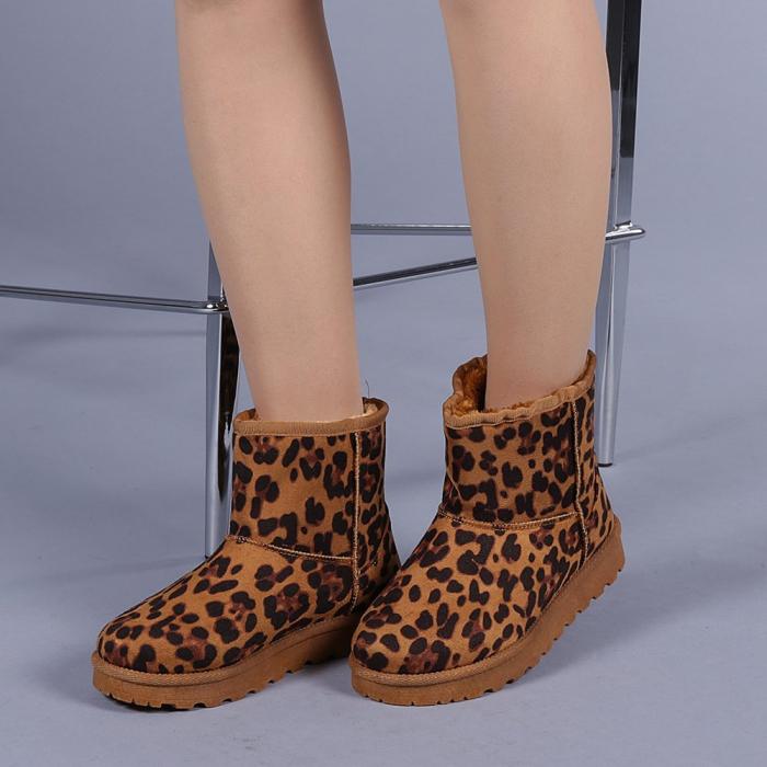 Cizme dama Trusha leopard 2