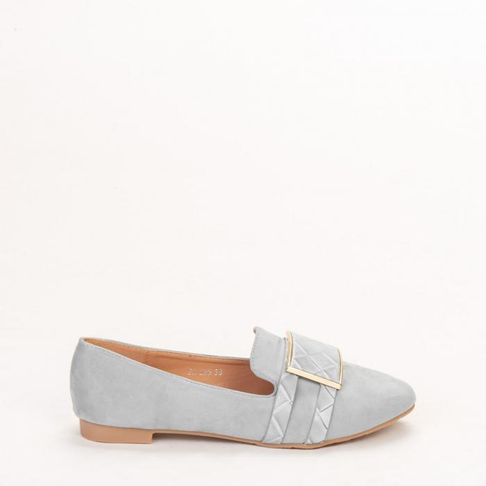 Mocasini dama Velvet bleu 0