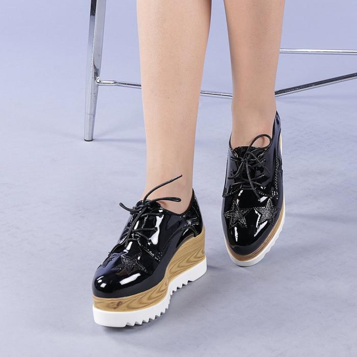 Pantofi casual dama Miriana negri 2