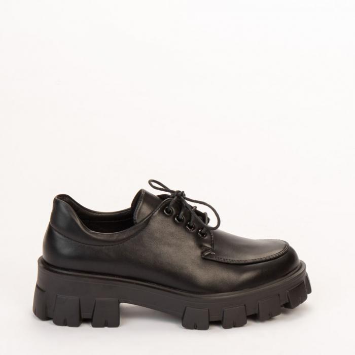 Pantofi casual dama Regan negri 0