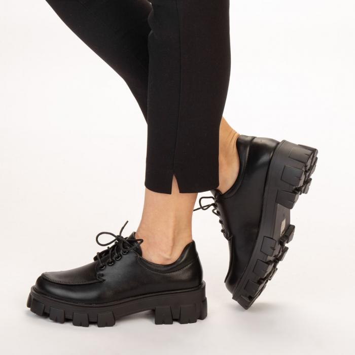 Pantofi casual dama Regan negri 2