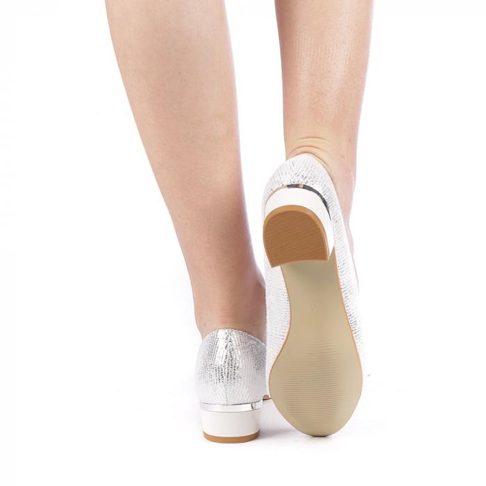 Pantofi dama Adekia albi 3