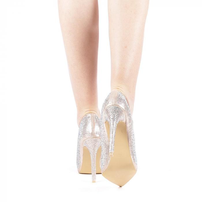 Pantofi dama Adripo aurii 3