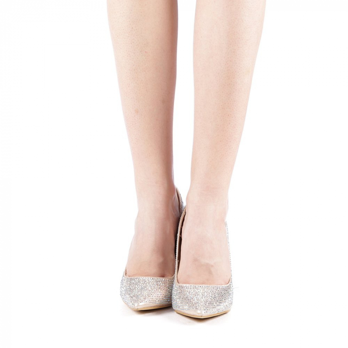 Pantofi dama Adripo aurii 4