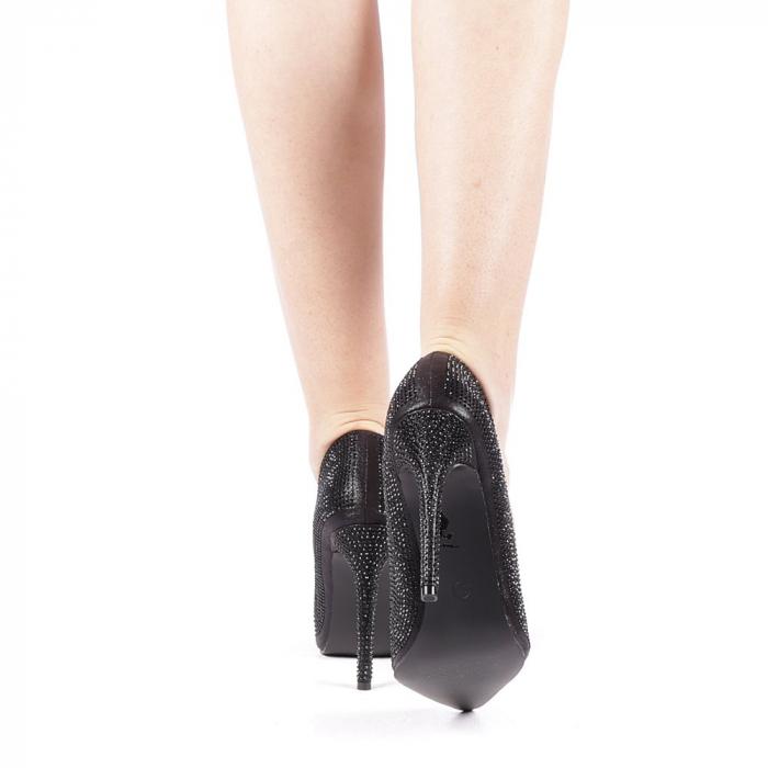 Pantofi dama Adripo negri 3