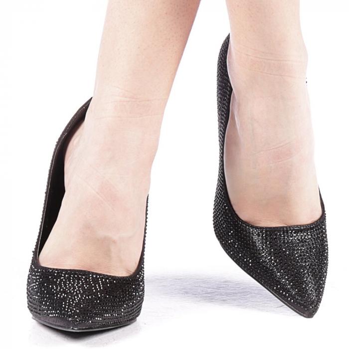 Pantofi dama Adripo negri 1