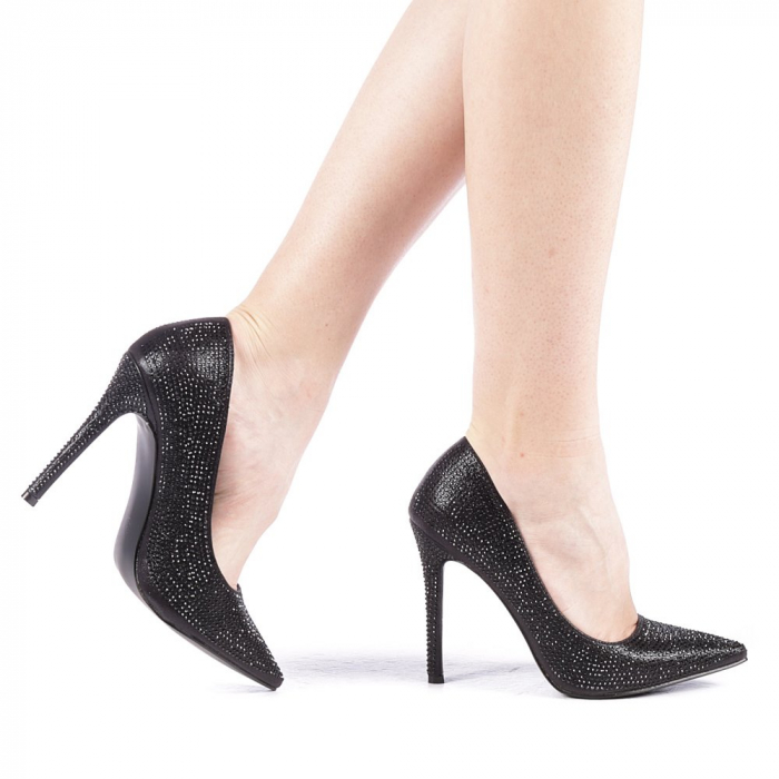 Pantofi dama Adripo negri 0