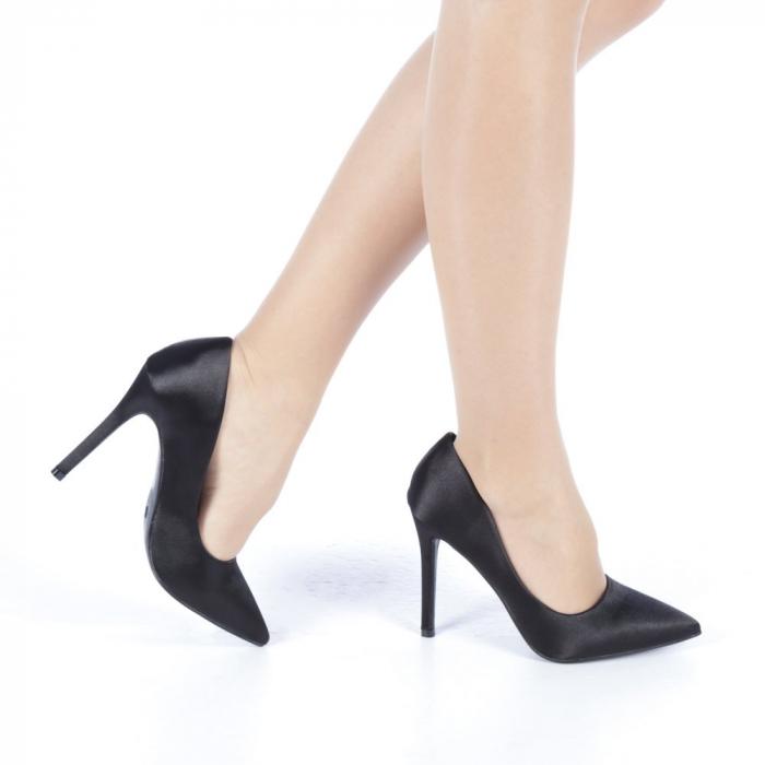 Pantofi dama Antonina negri 0
