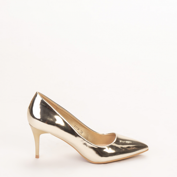 Pantofi dama Avice aurii 0