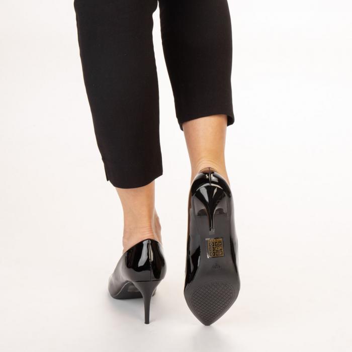 Pantofi dama Avice negri 3