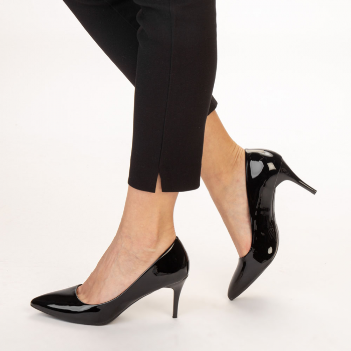 Pantofi dama Avice negri 2