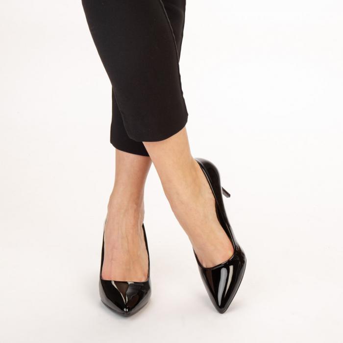 Pantofi dama Avice negri 1