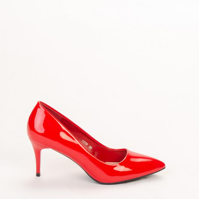 Pantofi dama Avice rosii 0