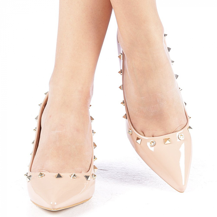 Pantofi dama Bhavna roz 4
