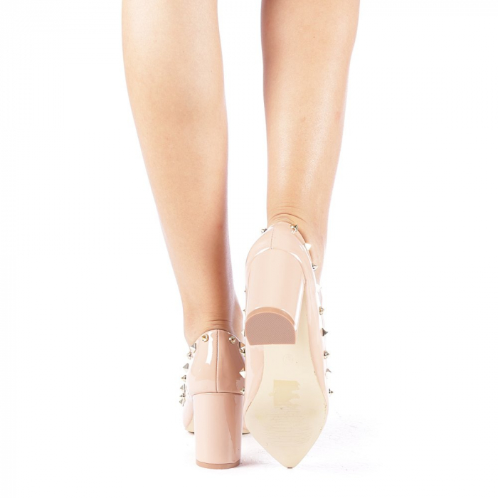 Pantofi dama Bhavna roz 2