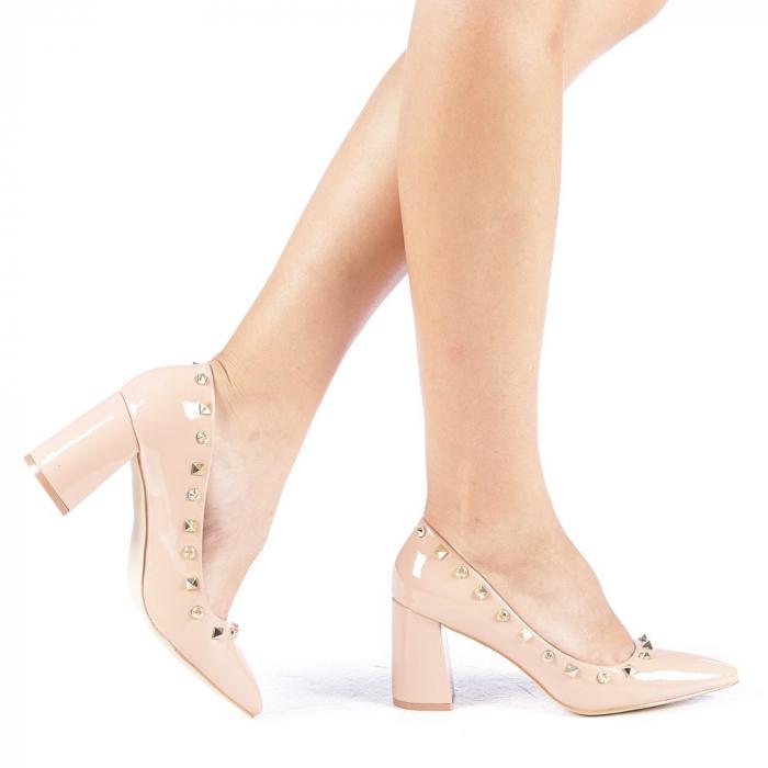 Pantofi dama Bhavna roz 0