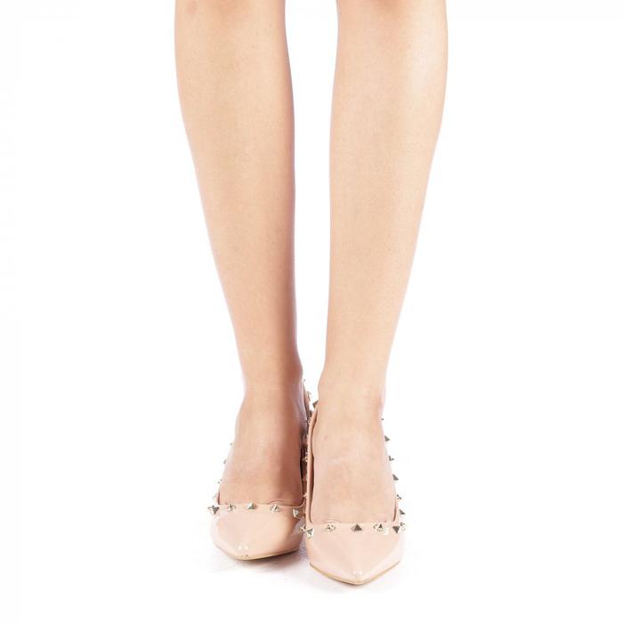 Pantofi dama Bhavna roz 3