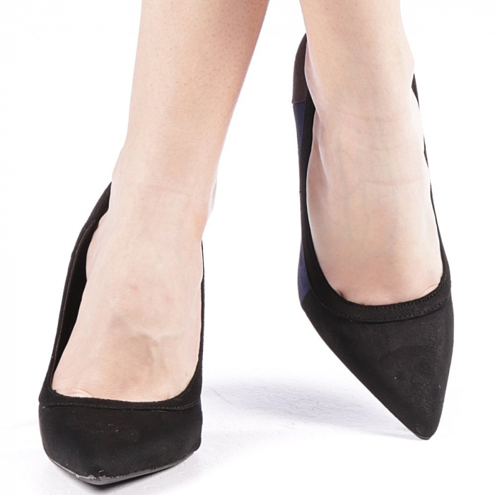 Pantofi dama Casandra gri 4