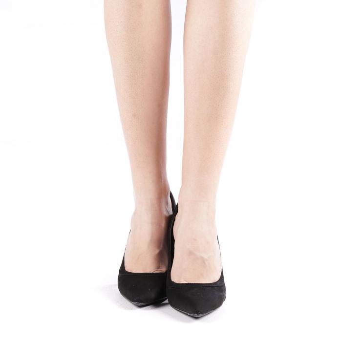 Pantofi dama Casandra gri 3