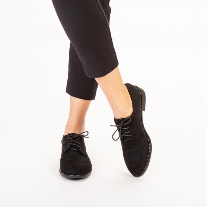 Pantofi dama casual Dollie negri 1