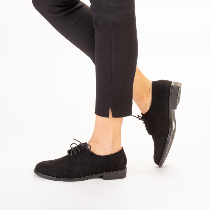 Pantofi dama casual Dollie negri 2