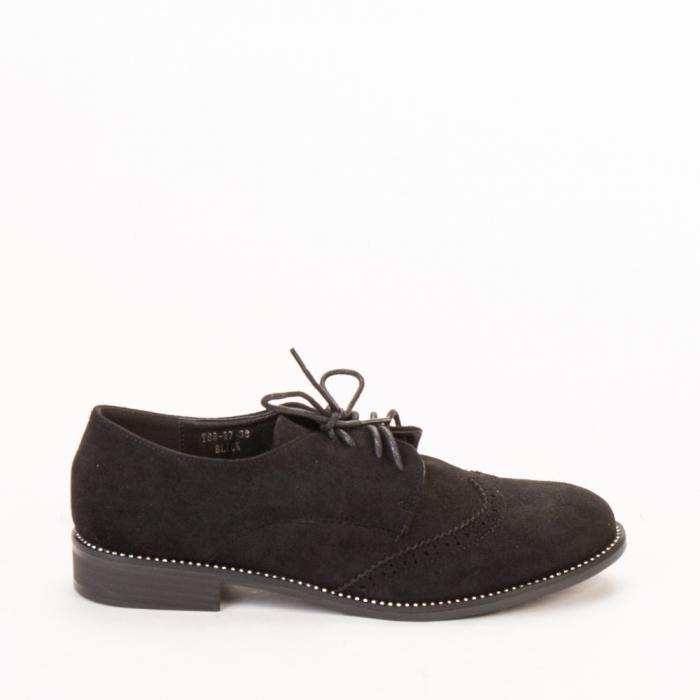 Pantofi dama casual Dollie negri 0