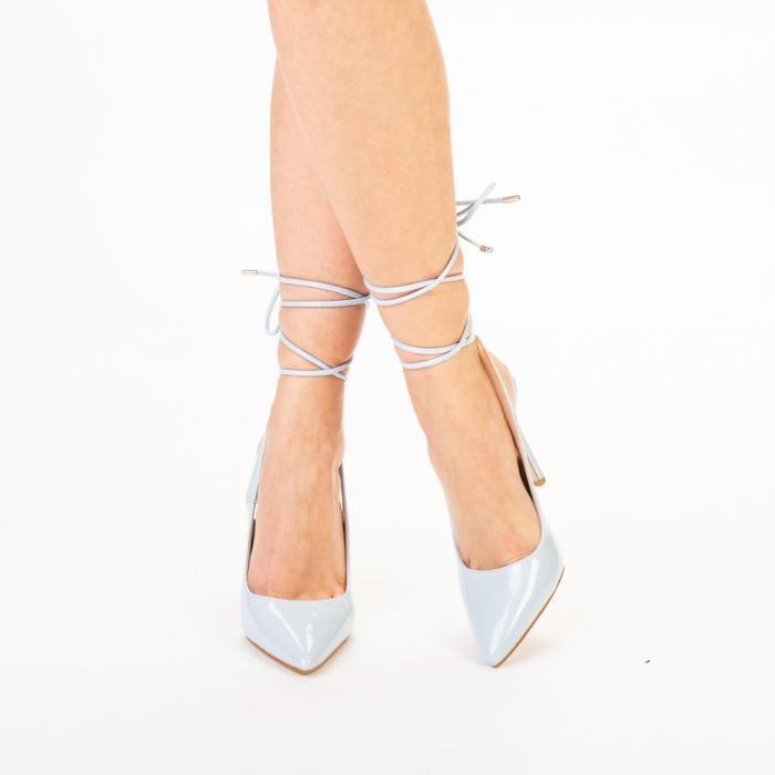 Pantofi dama Davina bleu 0