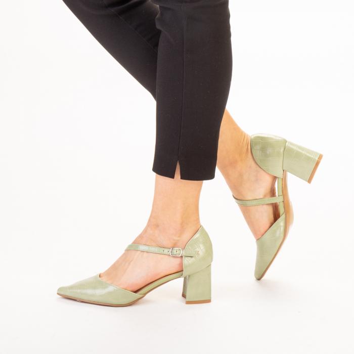 Pantofi dama Dayna verzi 2