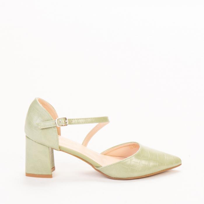 Pantofi dama Dayna verzi 0