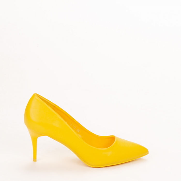 Pantofi dama Delora galbeni 0