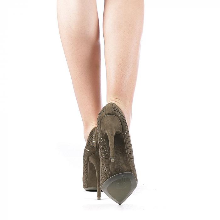 Pantofi dama Dena verzi 3