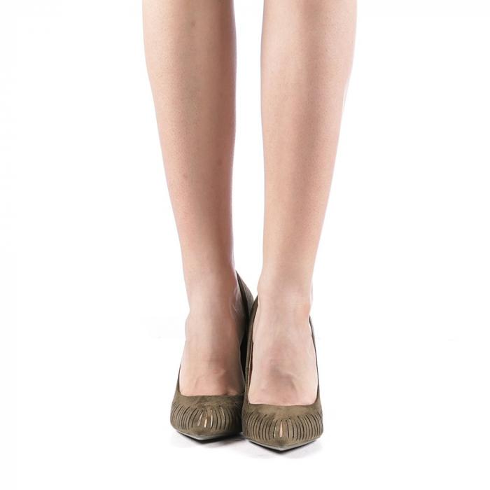 Pantofi dama Dena verzi 4