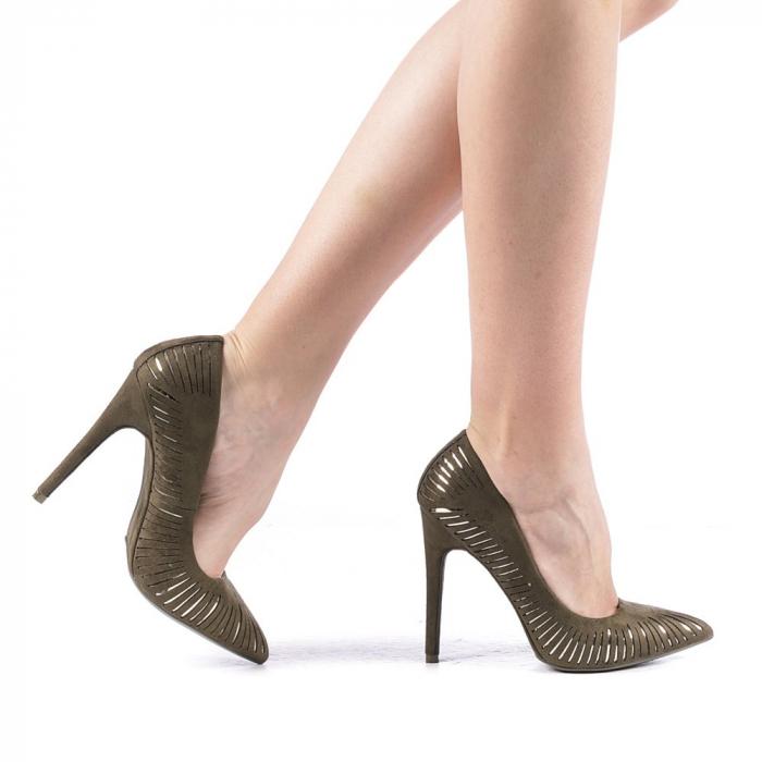 Pantofi dama Dena verzi 0