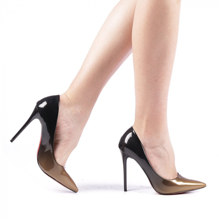 Pantofi dama Dillon aurii 0