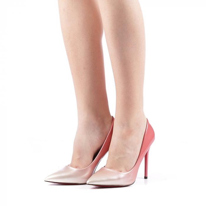 Pantofi dama Dillon roz 2