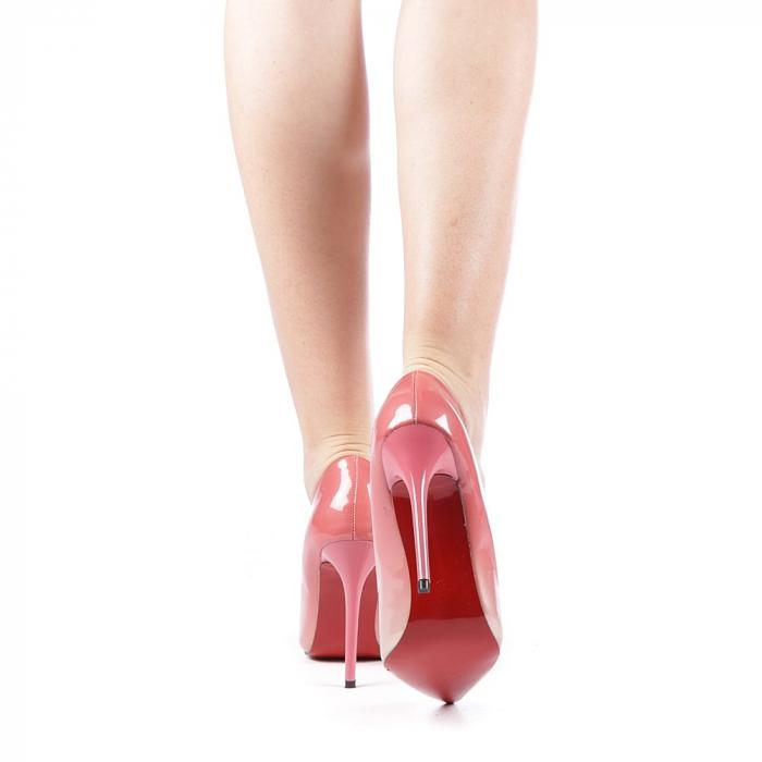 Pantofi dama Dillon roz 3