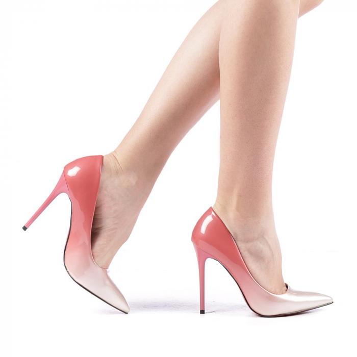 Pantofi dama Dillon roz 0