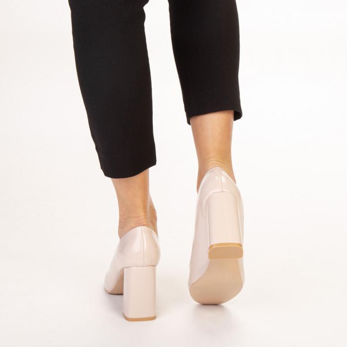 Pantofi dama Eloisa bej 3