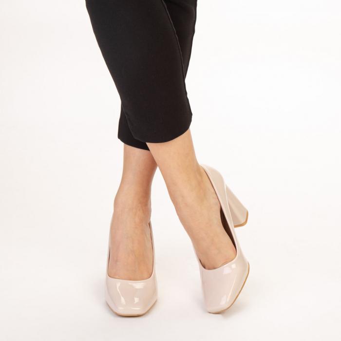 Pantofi dama Eloisa bej 1