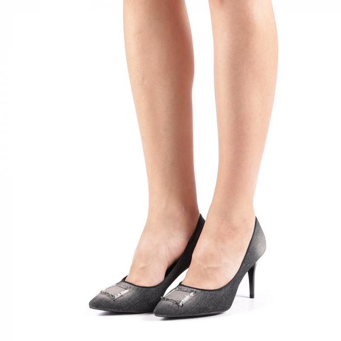 Pantofi dama Emira negri 1