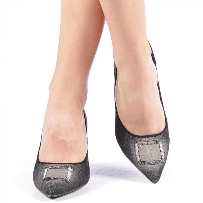 Pantofi dama Emira negri 4