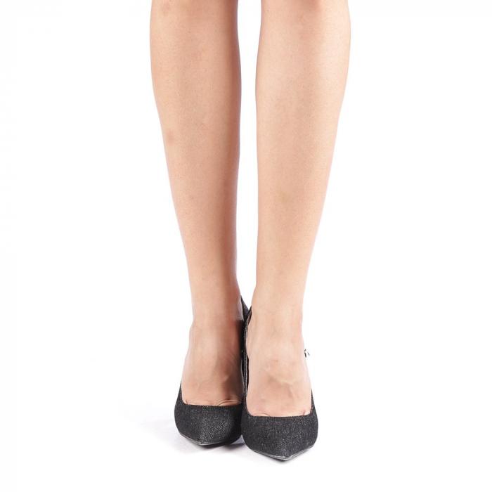 Pantofi dama Erica negri 3