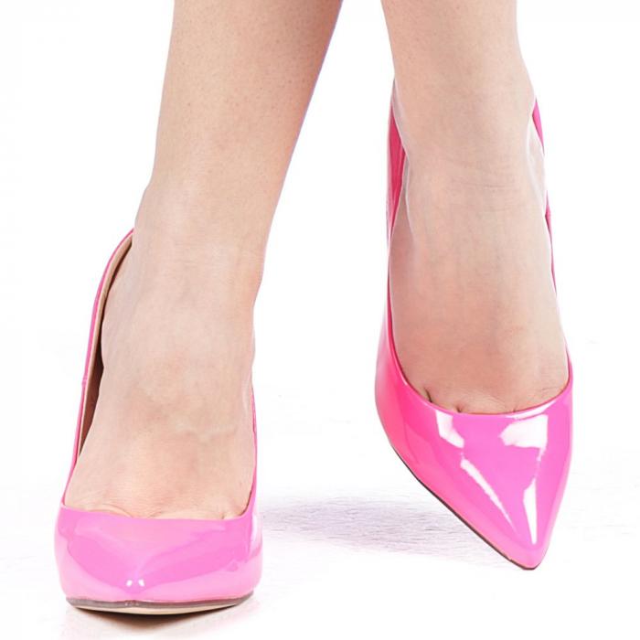 Pantofi dama Exoca fuchsia 1