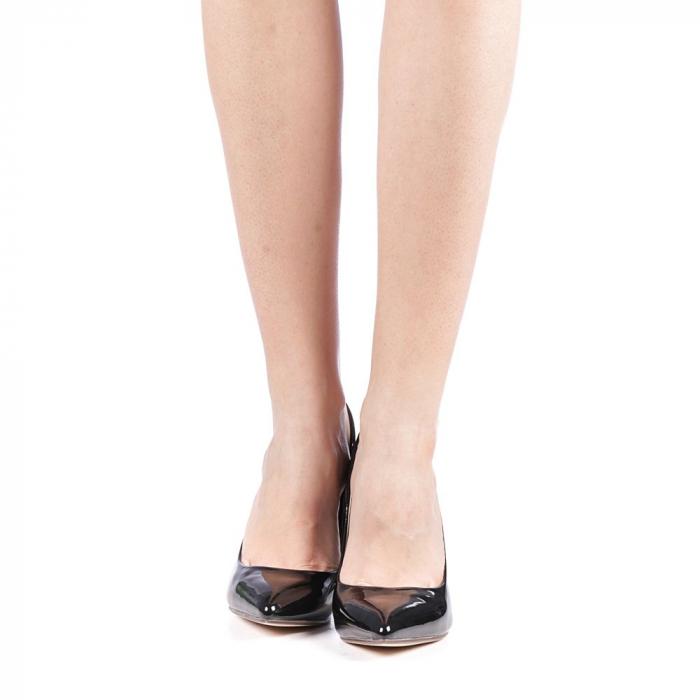 Pantofi dama Exoca negri 4