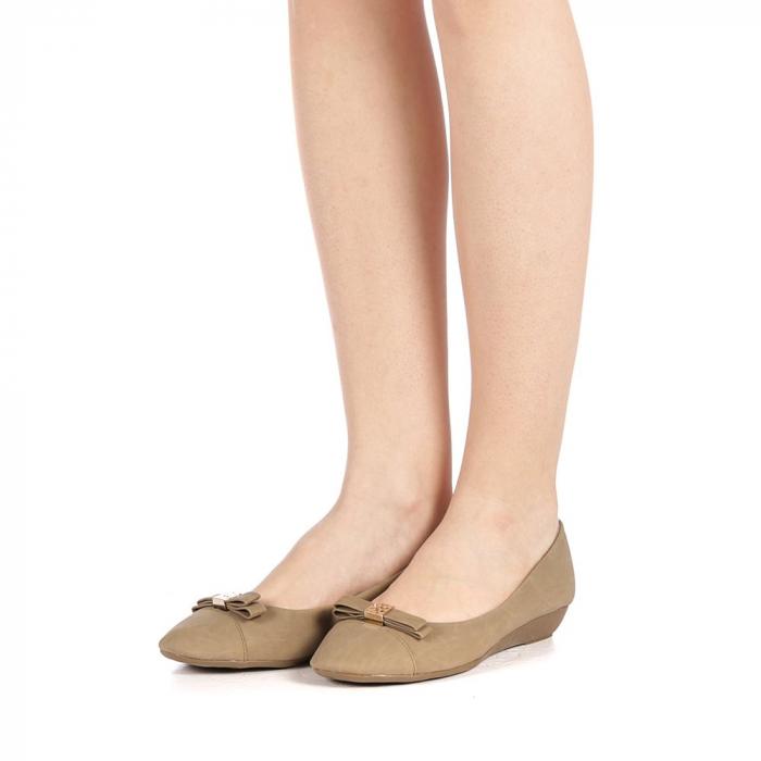 Pantofi dama Gheraso khaki 2