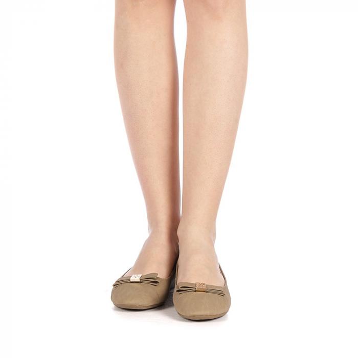 Pantofi dama Gheraso khaki 4