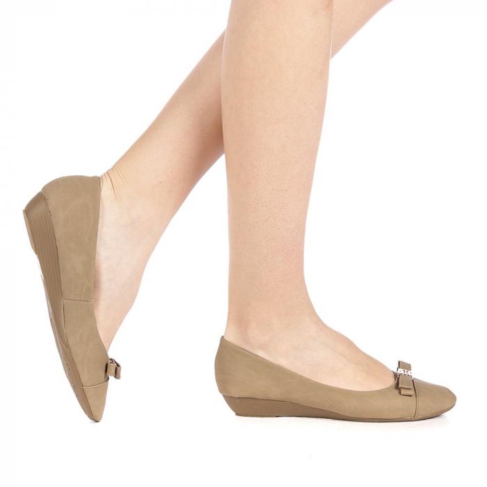 Pantofi dama Gheraso khaki 0