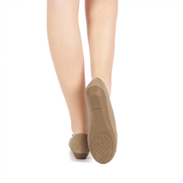 Pantofi dama Gheraso khaki 3