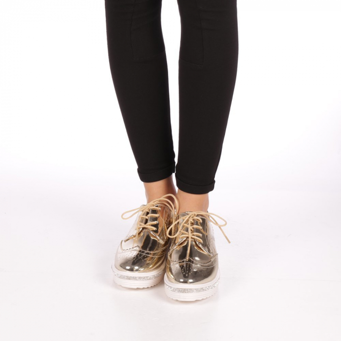 Pantofi dama Jaya aurii 1